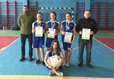 Юні баскетболістки з Шепетівки посіли друге місце на обласних змаганнях
