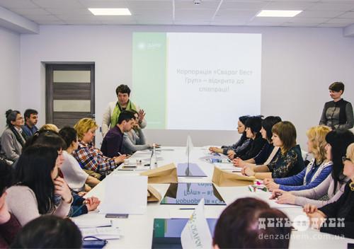 На Шепетівщину за досвідом приїхали жінки з Луганської та Донецької областей