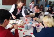 Вихованці гуртка «Народна іграшка» провели майстер-клас із виготовлення ляльки-мотанки
