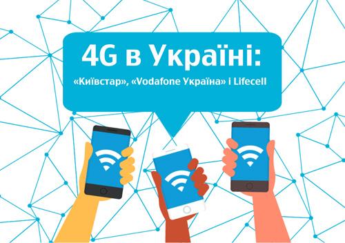Нова ера мобільного інтернету. Що треба знати про 4G?
