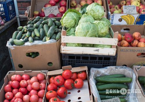 У вихідні в Шепетівці на ринку торгуватимуть лише продуктами харчування