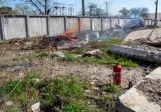Сусід запалив сміття— заяви в поліцію