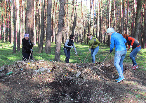 У День довкілля в Шепетівці відбулися масові толоки