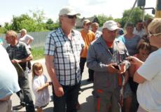 У Шепетівському районі протест селян наніс збитків компанії «Голден Тайл» на 250 тисяч гривень