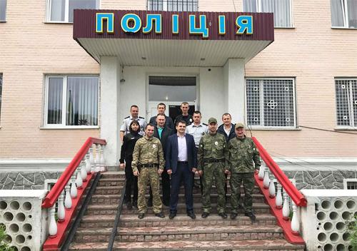 Шепетівські поліцейські повернулися зі Сходу