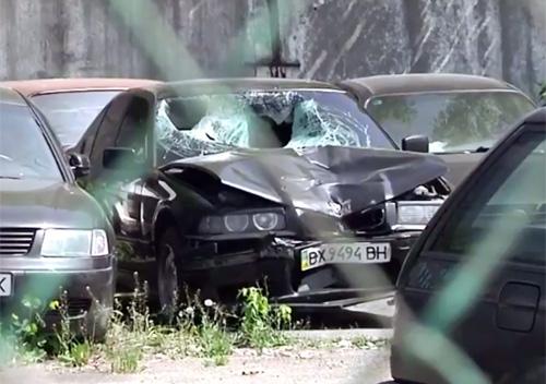 Встановили особу водія, який збив на смерть шепетівчанина, але ще не затримали
