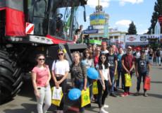 Учні технологічного центру з Шепетіщини побували на «Агро-2018»