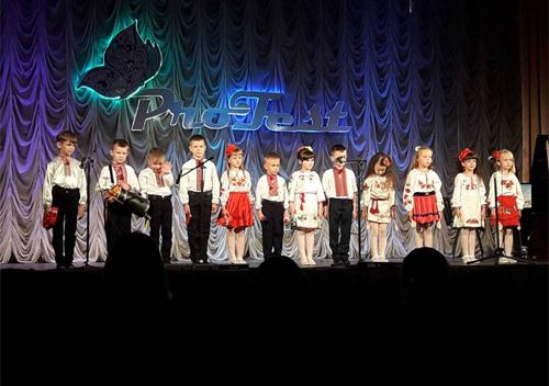 П'ятирічні музиканти з Шепетівки здивували столичне журі