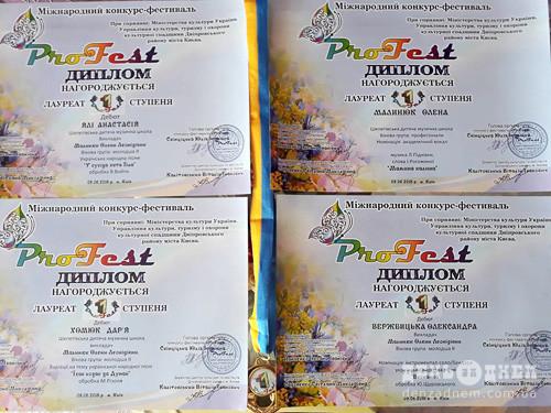 Юні шепетівчанки-бандуристки привезли золото міжнародного фестивалю