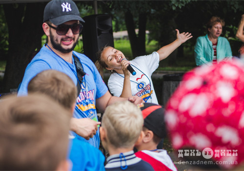 У Шепетівці християнський табір щодня збирає понад півсотні дітей