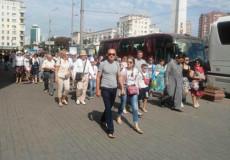 Віряни з Шепетівщини вже десятиліття, як долучаються до хресної ходи в столиці