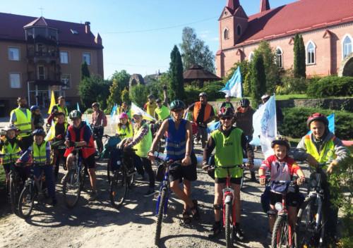 Велопаломники з Шепетівки подалися до Летичева