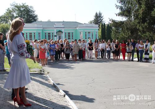 Учасники АТО з Шепетівського району підняли синьо-жовтий стяг