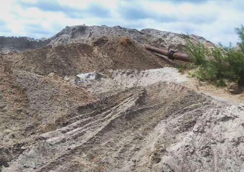 На Хмельниччині припинили незаконний видобуток піску