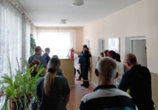 У Шепетівці рятувальники приборкали «пожежу» в лікарні