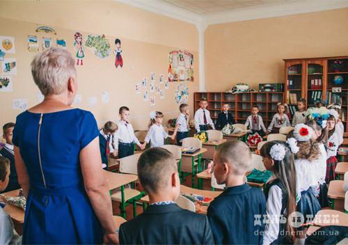 Перший дзвінок закликав школярів Шепетівки за парти