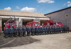 Шепетівські рятувальники урочисто відзначають своє професійне свято