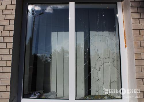 У Шепетівці «Енергоінвесту» вночі побили вікна