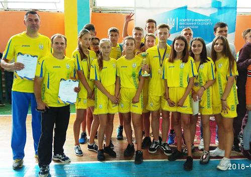 Шепетівські спортсмени здобули «срібло» Всеукраїнських «Стартів надій»