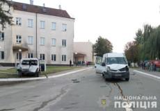 У Славуті на пішохідному переході збили жінку з немовлям