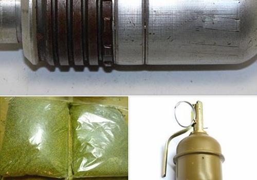 В автівці шепетівчанина знайшли наркотики й гранату, а в будинку— гранатометний постріл