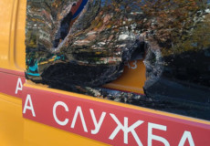 У Староконстянтинові боржник порубав автомобіль газівників