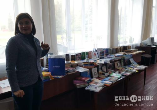 Зо півсотні шепетівчан подарували книги улюбленим бібліотекам