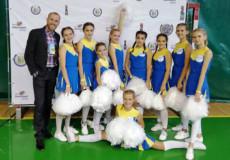 Шепетівська команда чирлідерів змагалася за всеукраїнську першість