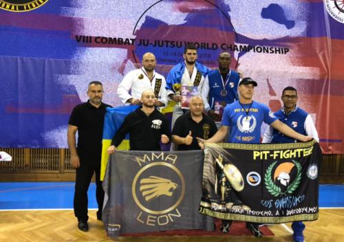 Хмельницькі спортсмени серед призерів чемпіонату світу з Комбат Дзю-Дзюцу