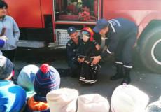 Дошкільнят рятувальники навчали правилам безпеки