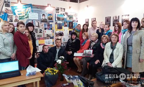 Загиблого захисника Вітчизни Максима Коваля згадували шепетівські студенти-медики
