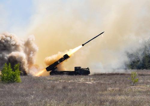 Ракетний комплекс «Вільха» взято на озброєння української армії