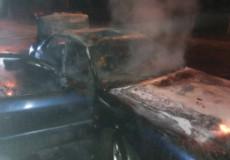 У Шепетівці через коротке замикання згоріло авто