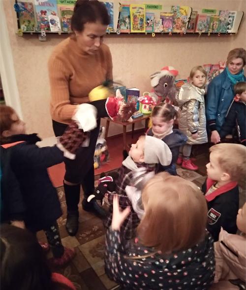 Бібліотека відчинила для дітей двері в казку