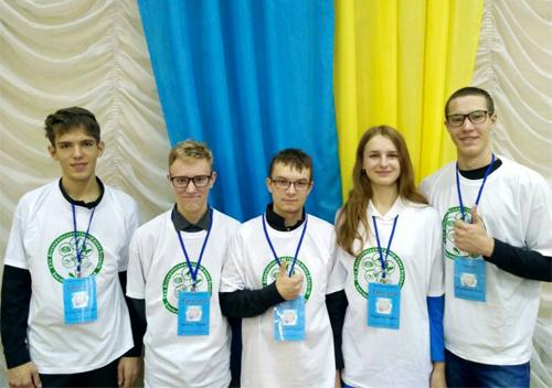 Шепетівські гімназисти серед переможців Всеукраїнського турніру юних біологів
