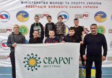 Шепетівчани посіли призові місця на змаганнях за кубок України з бойового самбо