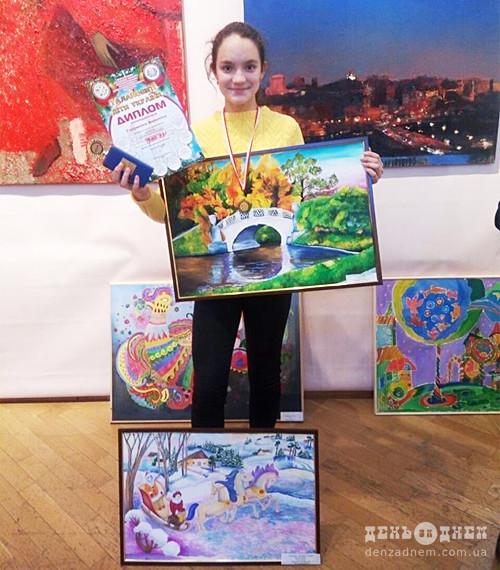 12-річна шепетівчанка отримала Гран-прі на Міжнародному фестивалі-конкурсі «Талановиті діти України»