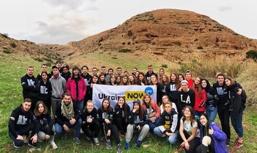 300 студентів Української академії лідерства знайомлять ізраїльтян з сучасною Україною