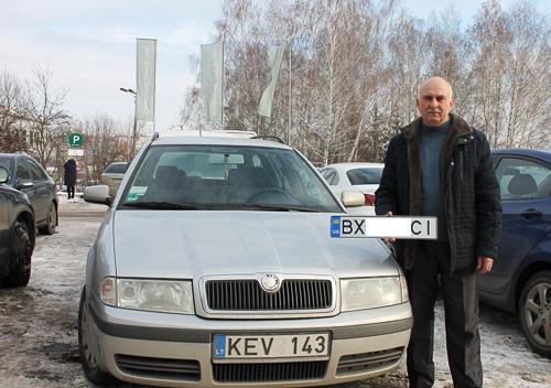 У Хмельницькому зареєстрували першу «євробляху»