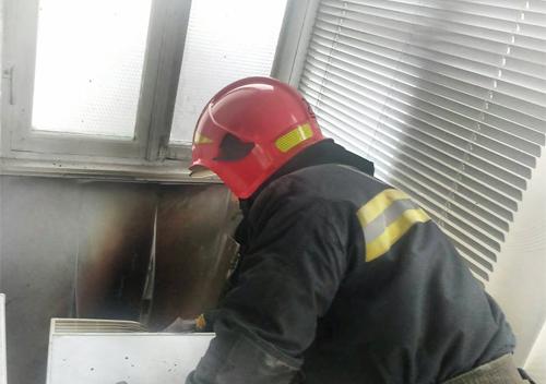 У Шепетівці сталася перша в новому році пожежа
