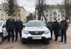 Сільські медики Шепетівщини отримали нові позашляховики