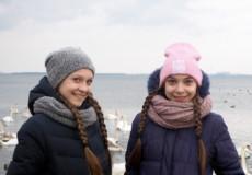 Восьмикласниці Анна Карпова та Крістіна Петровська з Нетішина вивчають професії атомної енергетики