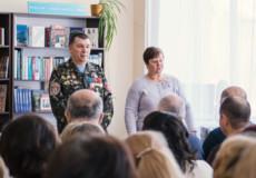 У Шепетівці ветеран Афганістану презентував книгу «Спогади»
