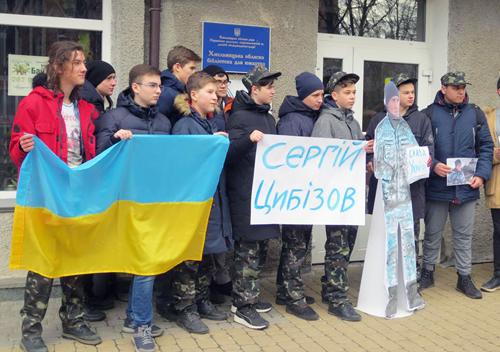 Хмельниччина підтримує моряка Сергія Цибізова