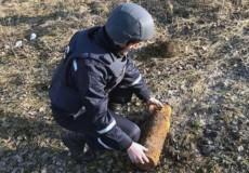 Піротехніки знищили артилерійський снаряд часів Другої світової війни