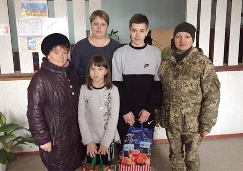 У Шепетівці капелан відвідав дітей загиблих захисників України