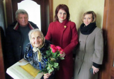 Шепетівчанка Марія Гауз зустріла 90-ту весну