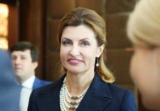 Дружина Президента Марина Порошенко відвідає Шепетівку