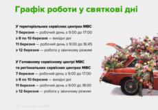 У Шепетівському сервісному центрі готуються до жіночого свята