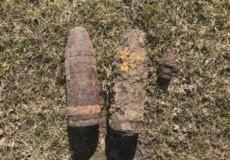У Траулині знайшли 2 артснаряди та 1 підривник часів Другої світової війни
